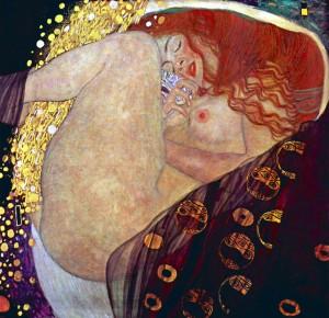 Gustav Klimt - Danae
